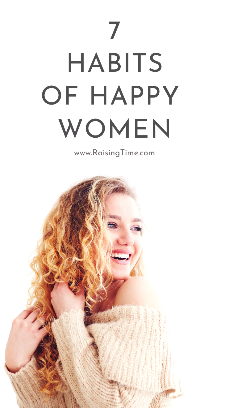 How to be happier according to science: Women who are happy most of the time do these 7 things differently - it's part of their daily routine! Discover the 7 daily habits of happy women to live a meaningful and fulfilling life.