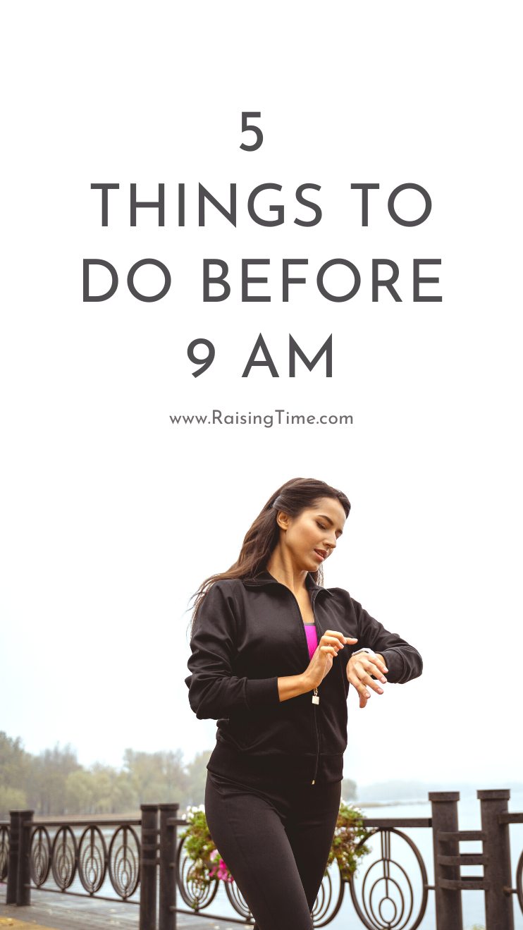 5 good habits to start - these morning habits can be part of your morning routine to help you start your day on a positive note.