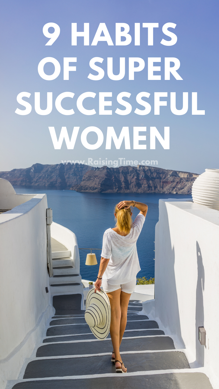 9 habits of successful women! If you want to achieve your goals and change your life for the better, learn from these success habits. Change your daily routine, start with your morning rituals,