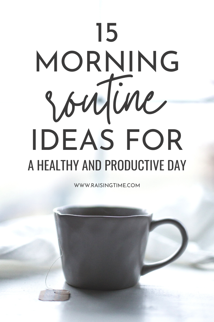 Get inspired by these morning routine ideas for a productive and healthy day. These morning habits and morning rituals can make lasting positive changes in your life!