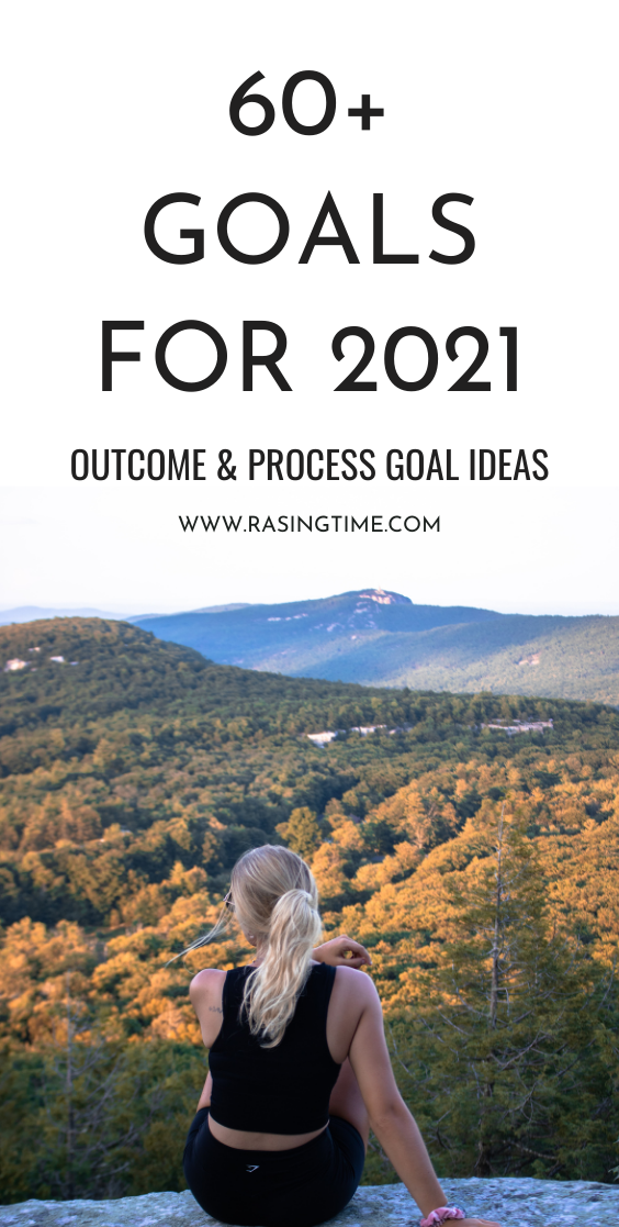 If you're looking for some goal ideas and good habit ideas to improve your life, get started with this list of goals, it's great for 2021! This list will inspire you to get started with more positive habits today and will help with your goal setting and goal planning process!