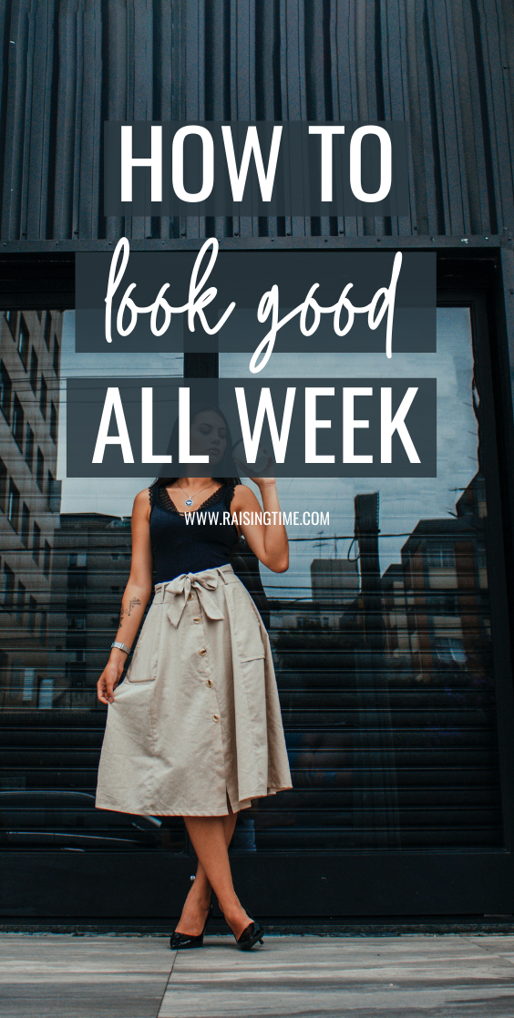 How to look good all week long with a little one week challenge. How to find the time, the energy and how to justify doing things for your own well-being, being kinda selfish, when others need you too. Stop neglecting your looks and build your beauty routine and self-care routine with some simple daily and weekly habits.