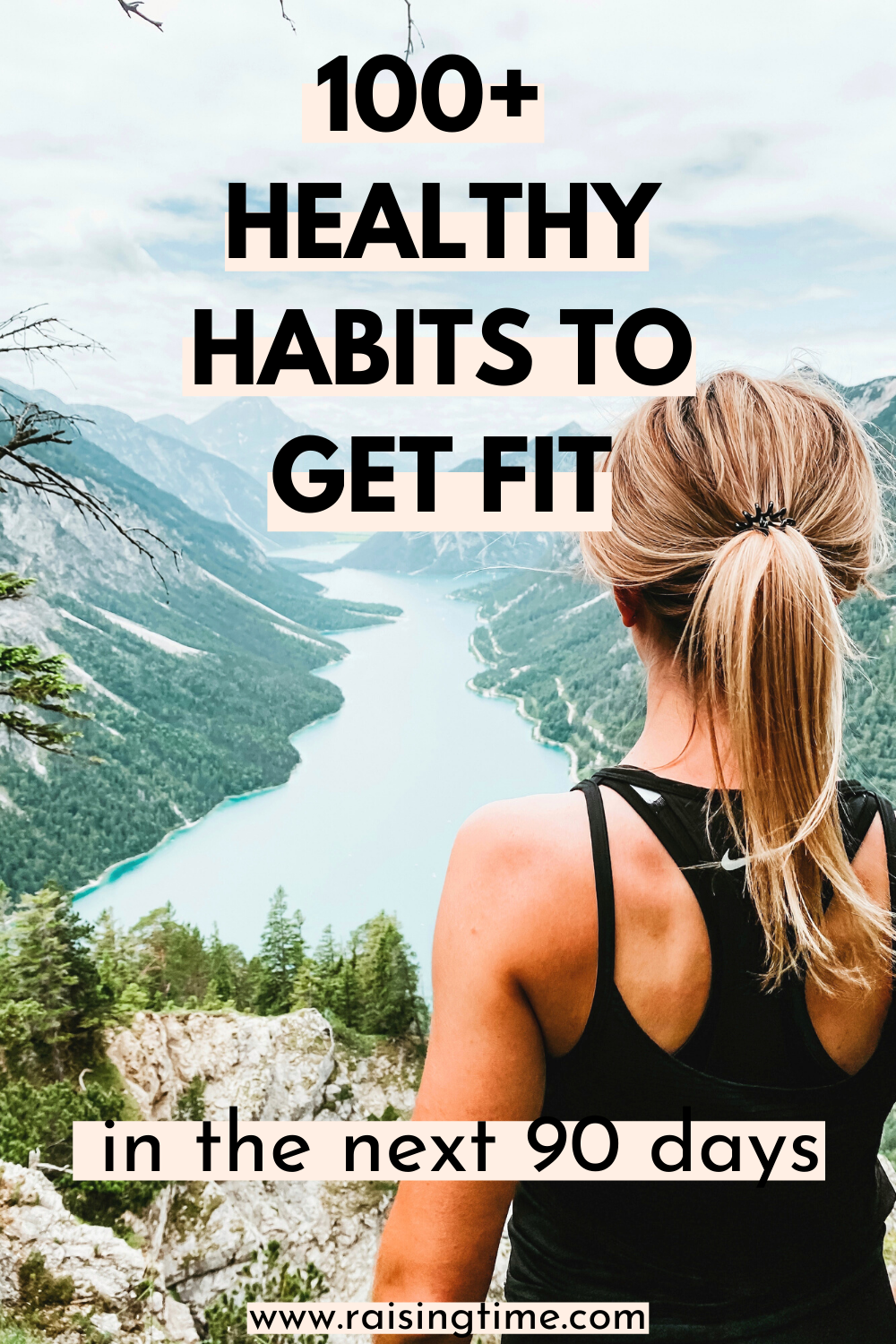 104 healthy habits that will help you get fit in 90 days! These healthy daily activities will help you improve your health and fitness and reach your fitness goals!